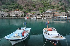Assos boats (sonofwalrus) Tags: sea slr water canon turkey boats fishing harbour middleeast fishingboats assos eos7d