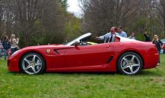 Ferrari 599 SA Aperta (ashm6209) Tags: red ny canon silver open 4 may convertible ferrari longisland gto sa nassau limited lamborghini rare scuderia roadster concoursdelegance aperta 2014 599 xti chelseamansion aventador