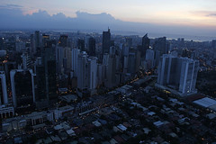 Makati from above (Manila-X Photography) Tags: skyline skyscrapers metro district philippines central business manila cbd makati