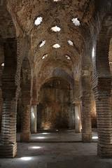 (daniel.virella) Tags: light espaa andaluca spain shadows columns arches arab ronda baths mlaga baos nazari picmonkey:app=editor