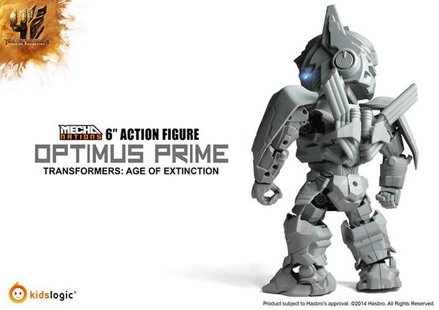 Kids Logic Transformers: Age of Extinction 柯博文