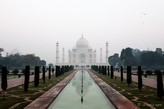 Taj Morning 7820 (Ursula in Aus) Tags: india architecture taj tajmahal agra unesco uttarpradesh earthasia