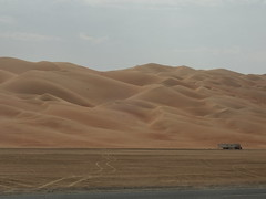 Sand Dunes near Liwa Oasis ( ), Abu Dhabi (  ) (twiga_swala) Tags: sahara landscape sand scenery desert dunes united emirates oasis arab camels emirate attractions liwa