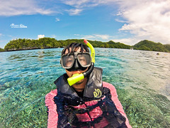 (M.K. Design) Tags: travel fish seascape beautiful landscape boats amazing nikon scenery honeymoon diving spa ultrawide palau      2014 koror      jellyfishlake   gopro hero3        palauroyalresort  longrainbow   d800e  afs1424mm28g