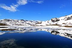 IMG_8122 Haukelifjell (JarleB) Tags: snow norway norge day norwegen hordaland sn hardanger vr snowmelt haukeli haukelifjell hyfjellet haukeliseter stvatn pwpartlycloudy