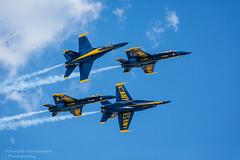 Blue Angels (pameladeutchman) Tags: airshow blueangels jonesbeach