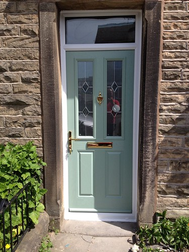 "Chartwell Green Composite Door With Fan Light,Chartwell Green • <a style=""font-size:0.8em;"" href=""http://www.flickr.com/photos/119595852@N02/14377922107/"" target=""_blank"">View on Flickr</a>"