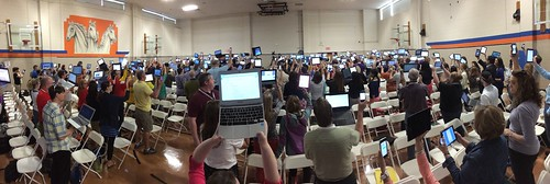 Lots of devices at #gafesummit TX by Wesley Fryer, on Flickr