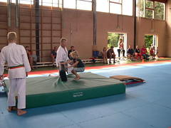 "zomerspelen 2013 karate clinic • <a style=""font-size:0.8em;"" href=""http://www.flickr.com/photos/125345099@N08/14427404373/"" target=""_blank"">View on Flickr</a>"