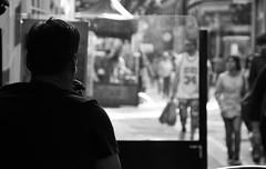 Smoking pipe (Aka-47) Tags: street city ireland light portrait people urban blackandwhite blancoynegro luz architecture buildings calle arquitectura edificios europa europe shadows gente terrace walk retrato cork smoke ciudad shades smoking paseo urbano smoker pint fumar humo sombras terraza irlanda pinta fumador