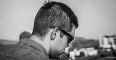 boy bw male sunglasses hair beard blackwhite nikon bokeh profile ear panama vignetting rayban stubble panamacanal d600 tedsphotos nikonfx d600fx
