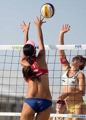 P7181974 (roel.ubels) Tags: world beach sport tour scheveningen denhaag beachvolleyball volleyball thehague volleybal 2014 beachvolleybal fivb