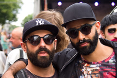 Friends. (AFIK  BERLIN) Tags: black hot men hair beard spanish barba chicos spaniards sakal tipos  erkek  tosragazzi