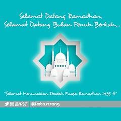 Marhaban yaa Ramadhan. Selamat Menunaikan Ibadah Ramadhan 1435 H seluruh warga #kotaserang . Semoga selalu di limpahi keberkahan di bulan yang suci ini. Pantengin info jadwal imsak, di twitter: @kotaserang Atau http://ift.tt/NCgXyJ #Ramadhan #berkah #puas (kotaserang) Tags: indonesia ini h yang di info warga ramadhan puasa selamat bulan yaa atau jadwal selalu ibadah marhaban 1435 suci twitter banten semoga imsak menunaikan berkah seluruh kotaserang instagram ifttt 1435h httpwwwkotaserangcom limpahi keberkahan pantengin