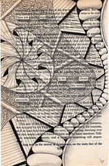 hope (Jo in NZ) Tags: blackandwhite drawing foundtext foundpoetry zentangle nzjo zendoodle