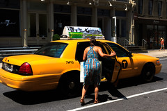 (Michelle Rick) Tags: street summer urban woman back dress candid taxi soho gothamist westbroadway unposed streetphotographer michellerick wwwmichellerickcom 2014