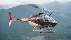 C-FIAN - HeliQwest Aviation - Bell 206B Jetranger (bcavpics) Tags: canada chopper bell britishcolumbia aircraft aviation helicopter heli jetranger rubycreek 206b heliqwestaviation cfian