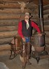 """Cowboy Tom (blackhawk32) Tags: horse cowboy wranglers western wyoming cowgirl hideout lodge"""" """"hideout"""