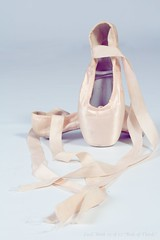 Ballet shoes (Chivers999) Tags: ballet canon dance shoes peach balletshoes danceshoes canonlens canon60d project52