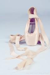 Ballet shoes (Chivers999) Tags: ballet canon dance shoes peach balletshoes danceshoes canonlens canon60d project52