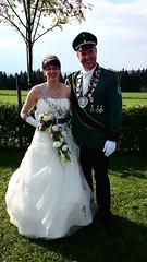 Königspaar 2014 Alexander und Katrin Vonnahme