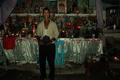 Dia de Santa Marta la Dominadora (Giovanni Savino Photography) Tags: portrait candles dominicanrepublic religion altar santamarta voodoo misterio popularculture vudu misterios religiousceremony palero magneticart santamartaladominadora 21divisiones santamartadominadora giovannisavino