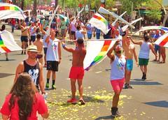 LAPride2 2014 172 (danimaniacs) Tags: shirtless man hot sexy guy hat losangeles hunk parade cap gaypride westhollywood csw lapride22014