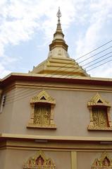 Ornate windows of the closed Phra That Khong Santi Chedi, a delightful modern wat (oldandsolo) Tags: southeastasia buddhism lp laos wat buddhisttemple luangprabang chedi buddhistart buddhistshrine laopdr unescoworldheritagecity buddhistreligion buddhistfaith phrathatkhongsantichedi