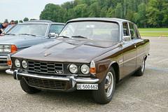 Rover 3500 S P6 27.7.2014 2175 (orangevolvobusdriver4u) Tags: auto england classic car vintage schweiz switzerland swiss rover oldtimer v8 p6 3500 2014 rover3500 klassik bleienbach roverp6 archiv2014