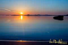 Blue sea.. (Kvervil) Tags: blue sea sun skye nature norway stone canon landscape eos lofoten brenna midnightsun beache nordland canoneos5dmarkiii eos5dmarkiii