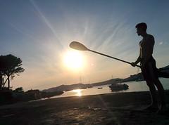mallorca paradise (mellamandani) Tags: sunset espaa sol contraluz spain paradise puestadesol mallorca
