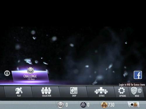 Injustice: Gods Among Us Main Menu: screenshots, UI