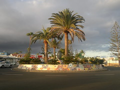 "Roundabout, Maspalomas, Gran Canaria • <a style=""font-size:0.8em;"" href=""http://www.flickr.com/photos/9840291@N03/14641511006/"" target=""_blank"">View on Flickr</a>"