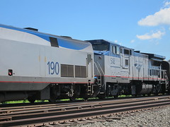 Amtrak 49 III (Fan-T) Tags: lake indiana amtrak 49 shore late ge limited porter p42 b32
