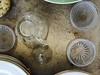 crystal (lianebeat) Tags: travel glass crystal market antique cups melrose fleamarket melrosetradingpost