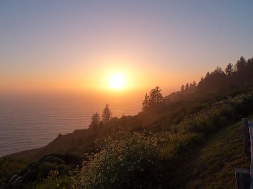 Sonnenuntergang Klamath Overlook