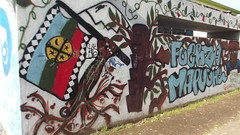 (Marty Belén) Tags: chile mural temuco mapuche