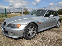BMW Z3 Coup (Oliver C. Photography) Tags: pictures auto show cars sports car sport silver germany deutschland photography