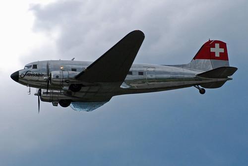 Swissair DC-3 N431HM