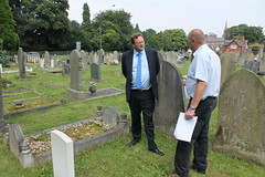 """Stephen Mosley MP meets Commonwealth War Graves Commission to discuss war graves in Chester • <a style=""""font-size:0.8em;"""" href=""""http://www.flickr.com/photos/51035458@N07/14744272023/"""" target=""""_blank"""">View on Flickr</a>"""