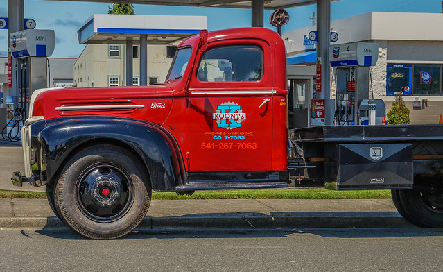 ford oregon truck sony f1 1940s flatbed coosbay oldtrucks sonyalpha