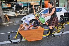 Finch-fiets unveiling at Velo Cult-20 (BikePortland.org) Tags: cargobikes metrofiets emilyfinch finchfiets