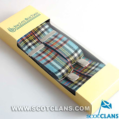 Clan Anderson Ancient Wool Tartan Braces (Suspenders)