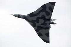 Vulcan (Bernie Condon) Tags: plane vintage flying display aircraft aviation military jet airshow vulcan preserved bomber raf warplane avro faa vbomber airday yeovilton rnas xh558 vtts