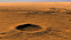 Columbia Hills Area on Mars (Kevin M. Gill) Tags: mars columbia hills crater gusev hirise computergraphics planetary science astronomy