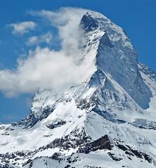 Turbulent flow (Alpine Light & Structure) Tags: alps switzerland schweiz suisse alpen alpes spring matterhorn cervin cervino zermatt