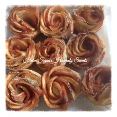 Phyllo roses (Helen's Heavenly Sweets) Tags: phyllodough puffpastry roses caramel dulcedeleche