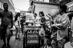My eyes on you | Bangkok 2016 (Johnragai-Moment Catcher) Tags: people photography momentcatcher monocrome streetmoment humaninterest blackwhite blackandwhite bangkokstreet thailand thailandtourism johnragai johnragaiphotos johnragaistreet johnragaibw