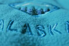 HMM ~ cloth/textile edition (karma (Karen)) Tags: fleeces embroidery dof bokeh macros macromonday hmm clothtextile cmwd
