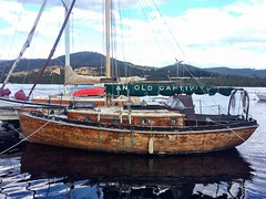 An Old Captivity. Huon River, Franklin. Tasmania.
